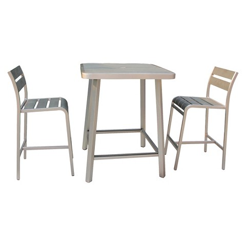 Polylumber 3-Piece Brava Pub Set