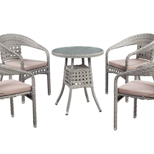 Carmen 5-Piece Bistro Set