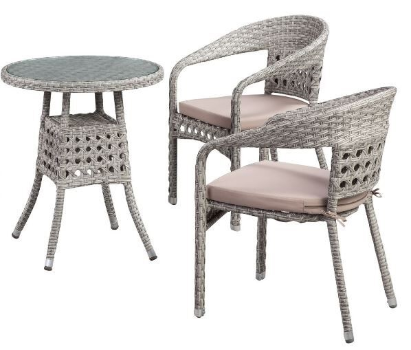 Carmen 3-Piece Bistro Set