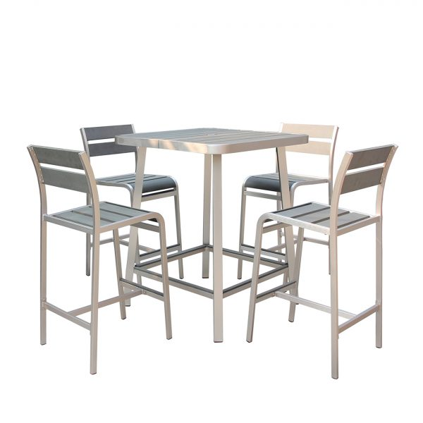 Polylumber 5-Piece Brava Pub Set