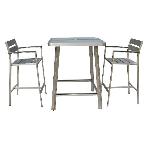 Polylumber 3-Piece Canaria Pub Set