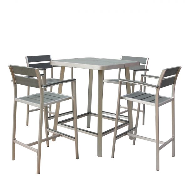 Polylumber 5-Piece Canaria Pub Set