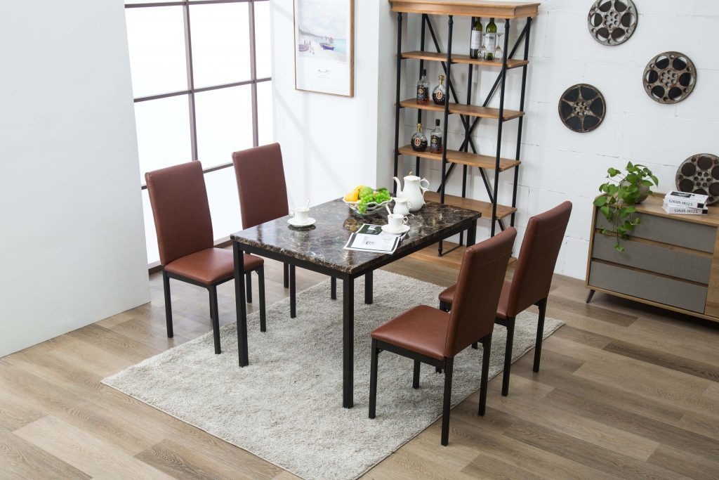 Arjen 5pc Dining Set