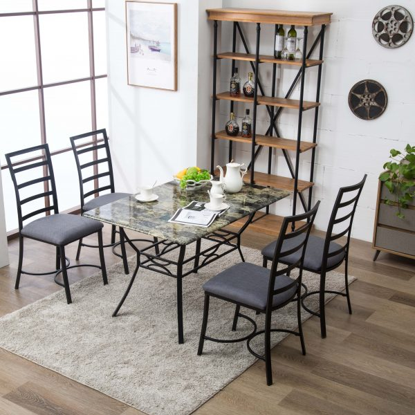 Bastian 5pc Dining Set