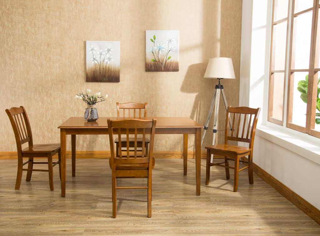 Shaker 5pc Dining Set Boraam Industries