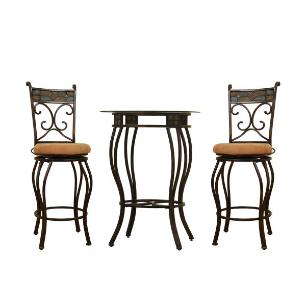 Beau 3pc Metal Pub Set