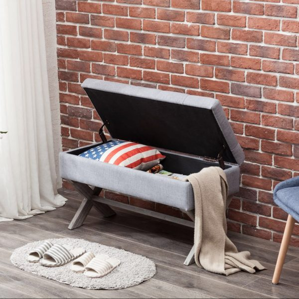 Angelina Storage Bench