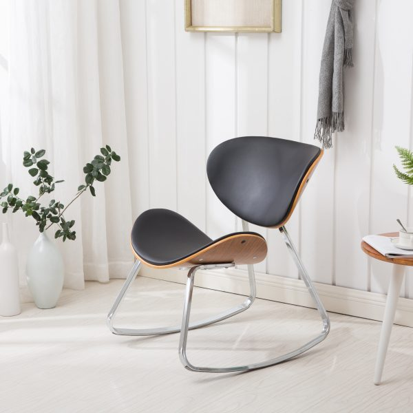 Lukwik Bentwood Rocking Chair