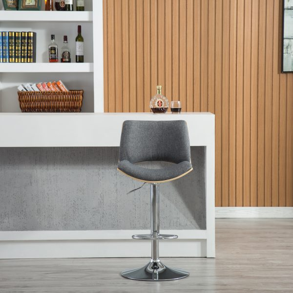 Gordon Bentwood Adjustable Swivel Stool