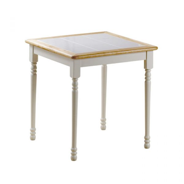 Square Tile Top Table