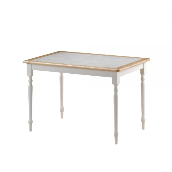 Rectangule Tile Top Table